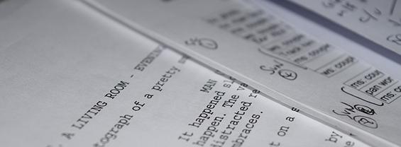Immagine: Il lavoro dello script editor all'interno di una casa di produzione